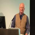 John Todd at Buckminster Fuller Challenge Award ceremony, speaking about Allan Savory